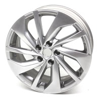 "OEM Nissan Rogue Light Gray Alloy 10-Spoke 18""x7"" 5-Lug Wheel 40300-4BH1A"