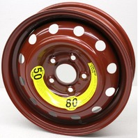 OEM Hyundai Kia Elantra Forte Veloster 15 inch Steel Spare Wheel 52910-2H910