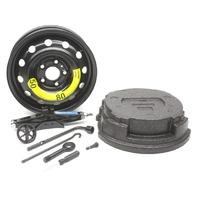 OEM Kia Forte Sedan Spare Tire Kit w/Jack & Tool Case B0F40-AU100
