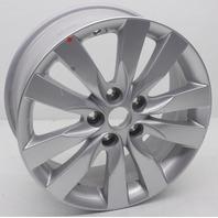 OEM Kia Forte Koup or Sedan Wheel 52910-1M350 Sparkle Silver Nicks and Scratches