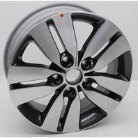 "OEM Kia Forte 16x6"" Alloy Wheel 52910-1M850 Scratches"