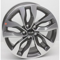 OEM Kia Optima 18 inch Wheel Scratches 529102T570