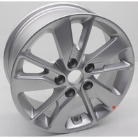 "OEM Kia Optima 16x6-1/2"" Wheel 59210-D5110 Silver Nicks and Scratches"