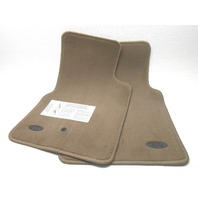 NOS New OEM Ford Crown Victoria Floor Mats Front Dark Prairie Tan 1998-2002