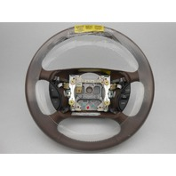 New OEM Ford T-Bird Mercury Cougar Leather Wrapped Steering Wheel Dark Mocha