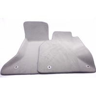 NOS New Genuine OEM 2002-2004 Audi A6 Front Grey Fitted Carpet Floor Mats