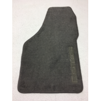New OEM 1999-2000 Ford F-Serises Super Duty Right Front Grey Carpet Floor Mat