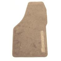 New OEM 1999-2000 Ford F-Serises Super Duty Right Front Grey Carpet Floor Mat
