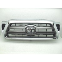 OEM 2011 Toyota Tacoma Sport Package Upper Grille - Chrome & Gray