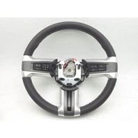 OEM 2013-2014 Ford Mustang Dark Gray Leather Steering Wheel