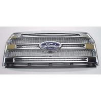 OEM 2015 Ford F150 Platinum Front Grille Satin Finish W/Emblem & Camera Option