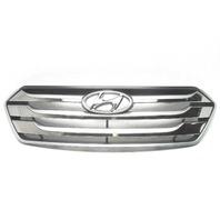 Hyundai Santa Fe Chrome Grille 2013-2014 OEM