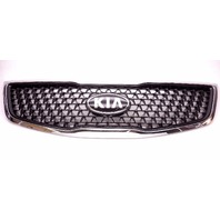 New OEM 2014-2015 Kia Sportage Front Upper Grille With Emblem Scratches!