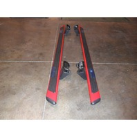 OEM Ford F-150 F150 Running Boards Set Kit Nerf Bars Crew Cab Red 2009-13