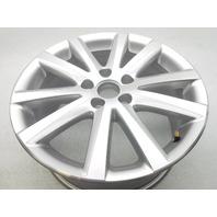 "New Genuine OEM VW Eos Passat 17"" 10 Spoke Alloy Wheel Rim Silver 2006-2011"