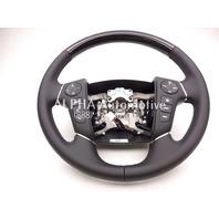 New OEM 2009-2014 Hyundai Genesis Steering Wheel W/ Woodgrain W/ Smart Cruise!