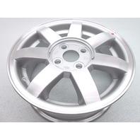 "New OEM 2002-2003 Kia Spectra 14"" 7 Spoke Alloy Wheel Rim - Silver"