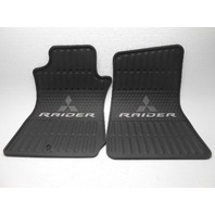Mitsubishi Raider Rubber Floor Mats All Weather Black 2006-2009 New OEM