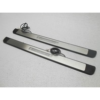 Front Door Sill Plates Plate Kit Lighted Scion Xd 2008-2010 Nice OEM