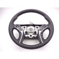 New OEM 2014-15 Hyundai Elantra Black Steering Wheel W/ Audio & Cruise Control