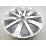 """New Genuine OEM 2006-2007 Mazda 5 16"""" 10 Spoke Alloy Wheel Rim - Silver"""