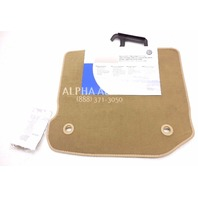 New Genuine OEM 2003-2006 Volkswagen GoLF Rear Beige Floor Mats Pair