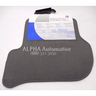 New Genuine OEM 2009-2010 Volkswagen Jetta Rear Euro Grey Floor Mats Nice Pair