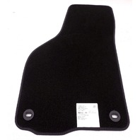 New OEM 2006-2007 VW GoLF GTi R32 Rabbit Front Right Only Black Carpet Floor Mat