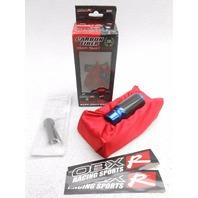 OBX Carbon Fiber Manual Gear Sport Shift Knob Toyota Scion - Blue Anodized