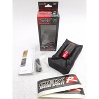 OBX Carbon Fiber Manual Gear Sport Shift Knob Toyota Scion - Red Anodized