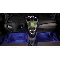 OEM 2007-2011 Toyota Yaris Hatchback Interior Blue LED Lighting Kit