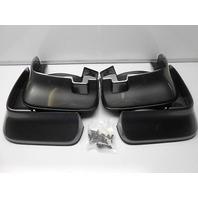 2009-2010 Acura TSX New OEM Polished Metal Mud Guard Kit *NH737M*