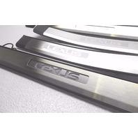OEM 2007-2011 Lexus GS350 GS460 Illuminated Door Sill Plate Kit