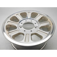 "Ford F250SD F350SD 18x8"" Wheel Rim 8 Spokes Polished 2005-2010 OEM - Nice!!"