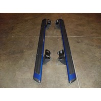 OEM Ford F-150 F150 Running Boards Set Kit Nerf Bars Ext Cab Blue 2009-13