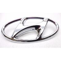 """New OEM Hyundai 2012-2014 7 1/4"""" Grille Emblem - 86311-3V000"""