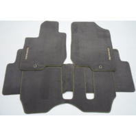 New OEM 2007-2009 Kia Rondo Brown Floor Mat Set - P8140-1D011-ND