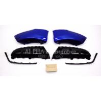 New OEM 2013-2015 Hyundai Veloster Rear Bumper Skirt Blue 2VF30-AC200-Uu9
