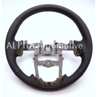 New OEM 2011-2013 Kia Optima Bare Black Leather Steering Wheel 56120-2T410VA