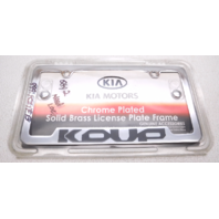 New OEM 2010-2013 Kia Forte License Plate Frame - UR010-AY105-Uc