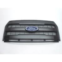 OEM 2015-2016 Ford F150 Lariat Front Upper Grille W/Emblem - Dark Gray
