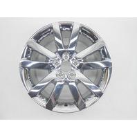 """OEM 2011-2014 Ford Edge 18x8"""" Aluminum Rim 10 Spoke Chrome Clad Light Peel"""