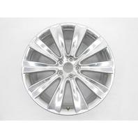 "OEM 2011-2015 Lincoln MKS MKX 20"" Aluminum Polished 11 Spoke Rim Nicks Scratches"