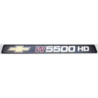 New OEM Chevy W5500 Hd Emblem/Sticker/Decal Pair Of 2