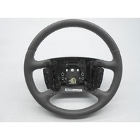 2006-2011 Lucerne OEM Steering Wheel Grey Leather With Buttons Minor Scuffs