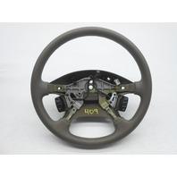 1993-1994 OEM Mazda 626 Steering Wheel Tan Plain Cruise Minor Scuff Mark