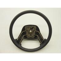 OEM 1989-1992 Ranger Steering Wheel Black Vinyl No Horn Pad E9TZ-3600-J