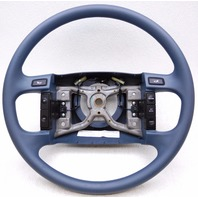 New OEM Ford 1992-1996 E150 Steering Wheel With Cruise Control Blue