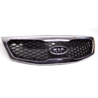 OEM Kia Sorento Front Grille Black Mesh W/ Cover-Minor Chrome Scratches