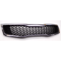 New OEM Kia Optima EX LX 2.4L Front Black Grille W/ Chrome-Minor Scratches